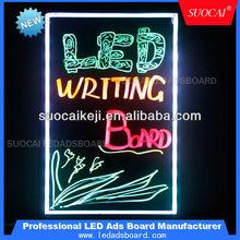 super brightness&eye-catching kids erasable writing boards