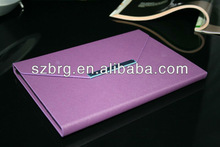 Envelop Case Cover for iPad mini bag with metal clousure