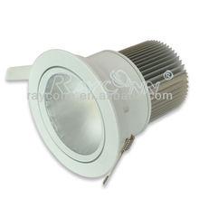 Recessed Downlight 10w-30W ajustable COB LED - Original SHARP,CITIZEN,BRIDGELUX led