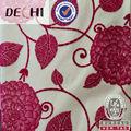 Poliéster dechi/nylon tecido rebanho para o sofá de/estofos/têxteis-lar
