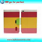 Guangzhou factory manufature leather cellphone flip case for ipad mini