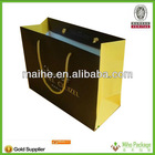 paper bag shopping/promotional shopping paper bag/printed shopping paper bag