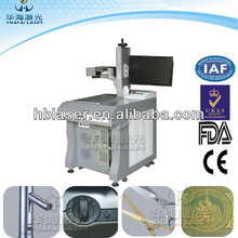 2013 New High Power 30W Fiber Deep laser plastic switch writing machine with logo &letters with Competitive Price