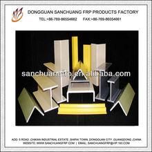 Composite Pultruded Fiberglass Equal Leg Angle,U-Channel,Support I Beam