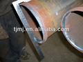 Coller hombro a granel de los extremos del tubo ranurado ambos extremos/hombro collered extremos de la tubería