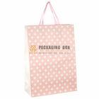 Polka Dot Gift Bag, Pink, Large