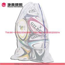 sports mesh bag for soccer packing