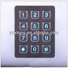 wireless door bell keypad numeric matrix door keypad