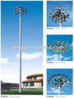stadium lighting mast