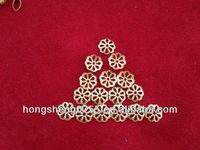lead free leaf shape filigree jewelry findings for jewelry making