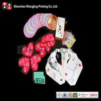 custom special shape playing cards, custom special shape poker set, custom special shape poker printing