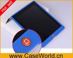 Hot Silicone case cover for ipad2 ipad3 ipad 4 cover