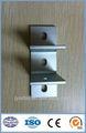 Cnc de color blanco plateado anodizado industrial de extrusión de aluminio perfiles