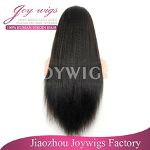 100% human hair wig with best price no shed & tangle