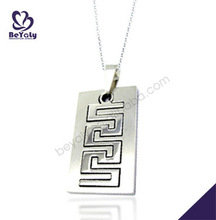pendant bails jewelry 2013 fashion jewelry cheap price custom stainless steel pendant