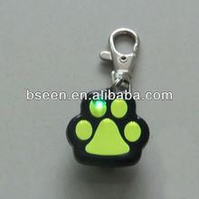 Safety ID tag LED dog pendant