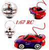 Mini RC Car 1:67 4ch Mini High Speed RC Car