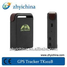 yahoo.com sim card micro vehicle/persons/pets gps tracker tk102 mini chip gps tracker