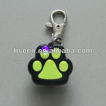 light-up dog tag