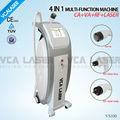 4in1 cavitación ultrasónica + RF + láser + vacío velashape cuerpo que forma la máquina