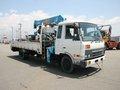 Diesel de nissan condor camión 2,5 con toneladas de la grúa