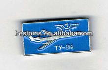 Old Russian TUPOLEV TU-154 aircraft pin badge