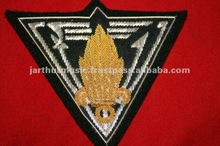 FRENCH FOREIGN LEGION 2ND REP 3RD CO. BULLION BADGE