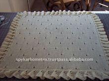 Handmade 100%baby Wool Blanket