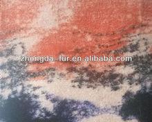 blending high quality animal pattern of fabric molleton