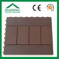 Asa de la superficie de pvc/impermeable wpc ingeniería pisos de madera