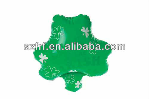 inflatable plant shamrocks display