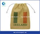 100% jute fabric bag sofa fabric shopping