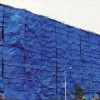 Blue Color PE Tarpaulin for covering Big outdoor Hoardings