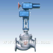 Opens and Closes air flow control valves