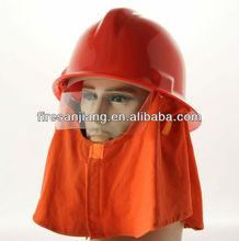 de plástico mascarilla facial con casco de seguridad