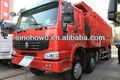 caballos de fuerza grande 375hp camión volquete del howo zz3317n3567w