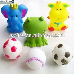 ECO-Friendly pet vinyl toys squeaky ball dog toys