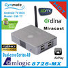T7 Mini PC Android dual core cortex-a9 1.5Ghz 1G/4G google TV box Mini PC amlogic MX