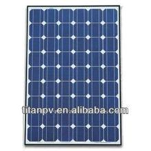 Eco friendly solar product solar panel 50w,80w,100w & 150w with higher efficiency for on-grid& off-grid home solar energy system