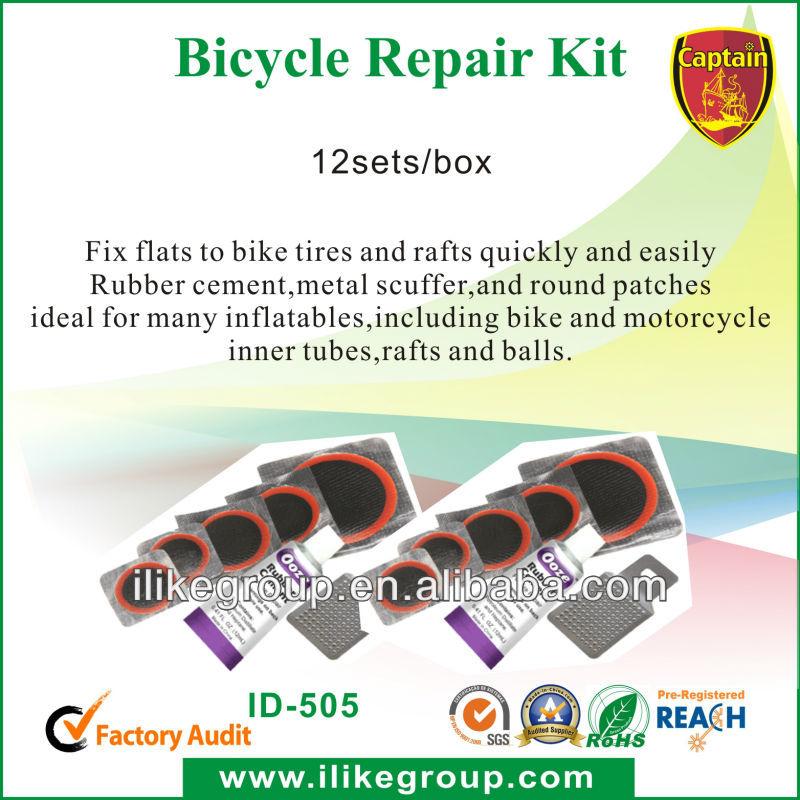 kit de réparation de pneu de bicyclette