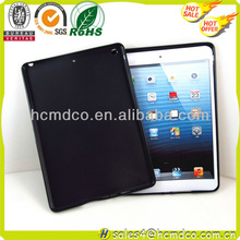 Durable silicone rubber back cover protector case for iPad 5