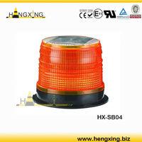 HX-SB04 car accessory solar LED beacon light Strobe lamp with Magnetic base