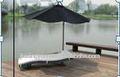 Outsunny bahçe açık rattan mobilya veranda şezlongda RECLINER uzanmış sandalye yatak serin masa veya kutu aluminunt- rb- 261