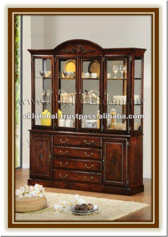 Buffet y hutch muebles de madera comedor muebles para - Muebles para el comedor ...