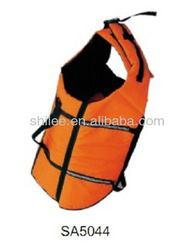 Pet reflective life jacket