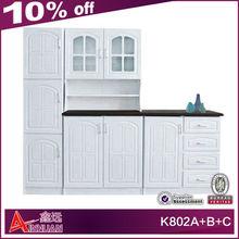 K802A+B+C furniture kitchen wooden discount kitchen cabinet