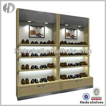 used hanging shoe display showcase