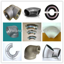 China factory direct sale sch80 steelforged elbow,stainless steel reducing elbow,steel miter elbow