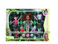 vente en gros nouvelle poupée poupées monstre 2013 chaud vendant 3 mélanger pcs pack poupée monstre élevé