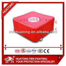 Column type fire rescue air cushion